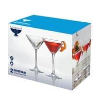 Ravenhead Entertain Cocktail Glasses Pack 2 - 24cl